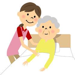 介護士の女性で姿勢が悪くなる原因の動作